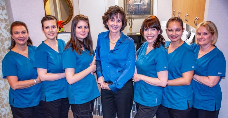 marcus dental team group portrait - Contact Us
