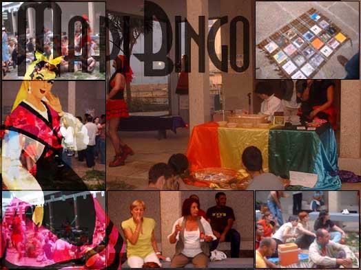 MariBingo na Fundación Luis Seoane