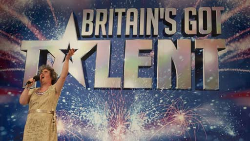 Susan Boyle en Britain's Got Talent