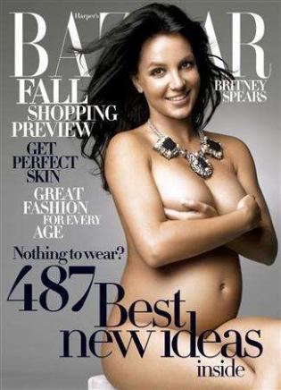 Britney en la portada de Harper's Bazaar