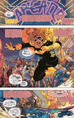 malotes insultando a Batgirl
