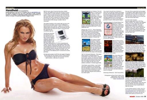 Amanda MacKay na revista Soak