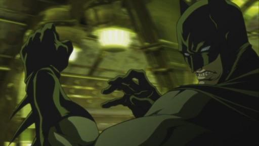Batman en plan anime