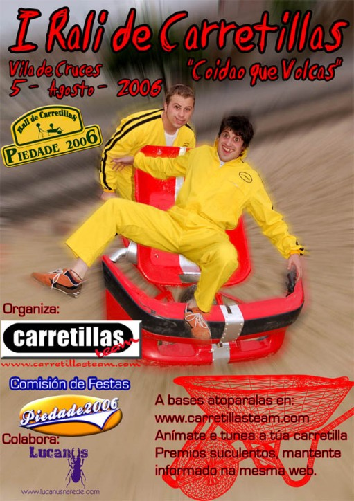 Cartel do Rali de Carretillas 2006