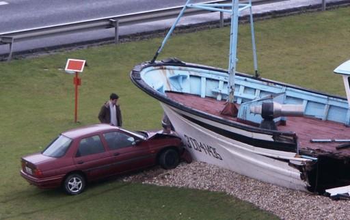 Nova hostia contra o barco de Chanquete