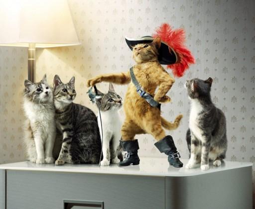 o gato con botas