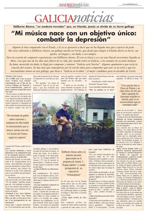 Entrevista a Edilberto Alonso