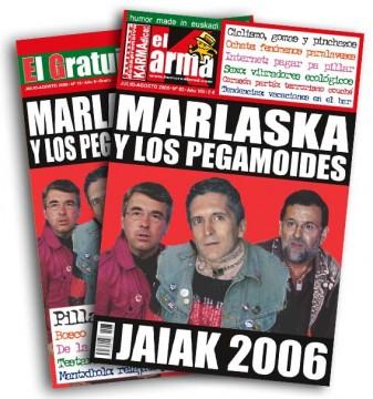 Portada de Karma Dice con Marlaska e os Pegamoides