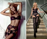 Kate Moss nos anuncios de Agent Provocateur
