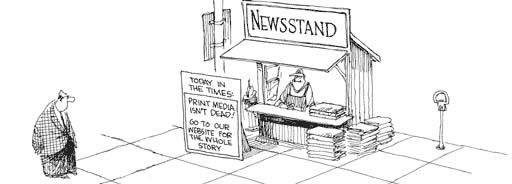 Print Media isn't dead