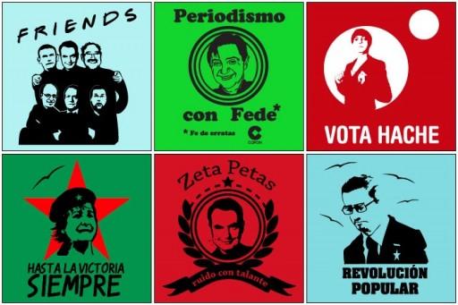 Exemplos de camisetas políticas en ShirtCity