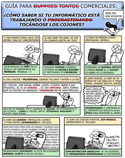 guía para calar a un informático