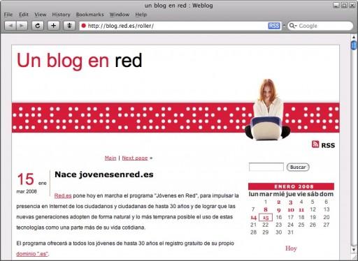 Un blog en red