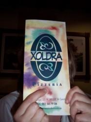 Carta da Pizzería Xoldra