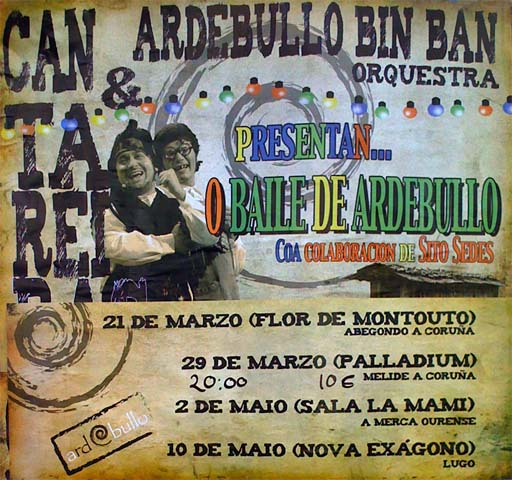 Cartel do Baile de Ardebullo