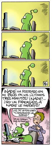 Bok blogueando
