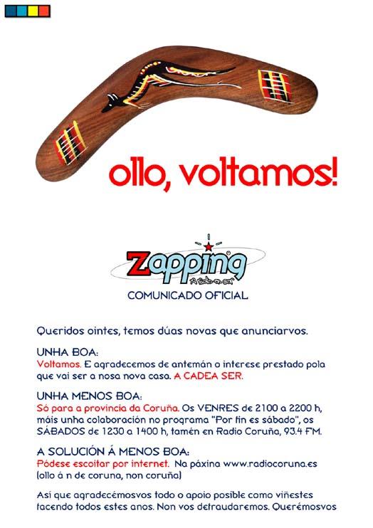 Volta Zapping