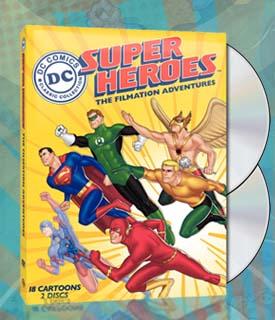 DC Superheroes The Filmation Adventures