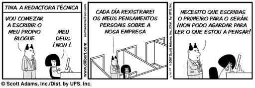 Tina en Dilbert