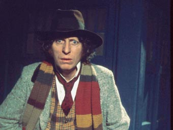 Tom Baker como el Dr. Who