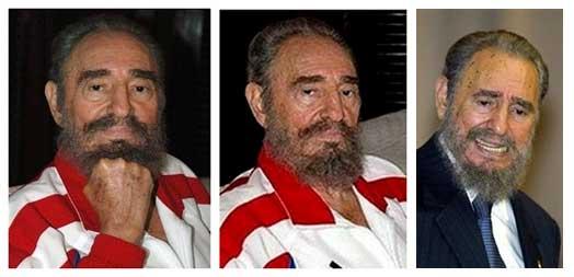 A misteriosa barba de Fidel Castro