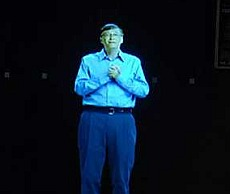 Bill Gates holográfico