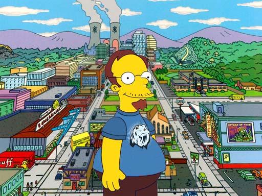 Marcus Fernandez Simpson en Springfield