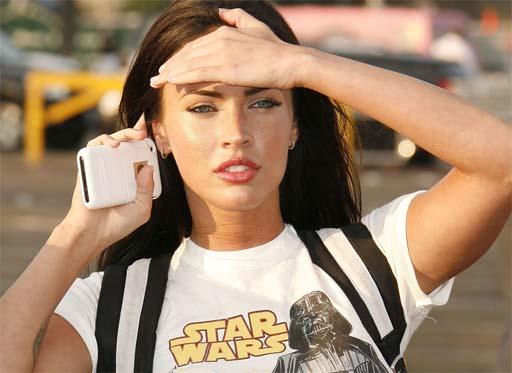 Megan Fox en detalle