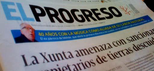 Portada de El Progreso