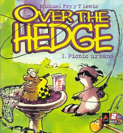 Primer libro recopilatorio de Over The Hedge