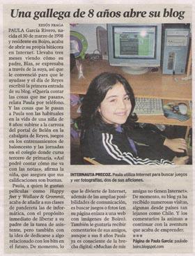 Paula de Boiro en La Voz