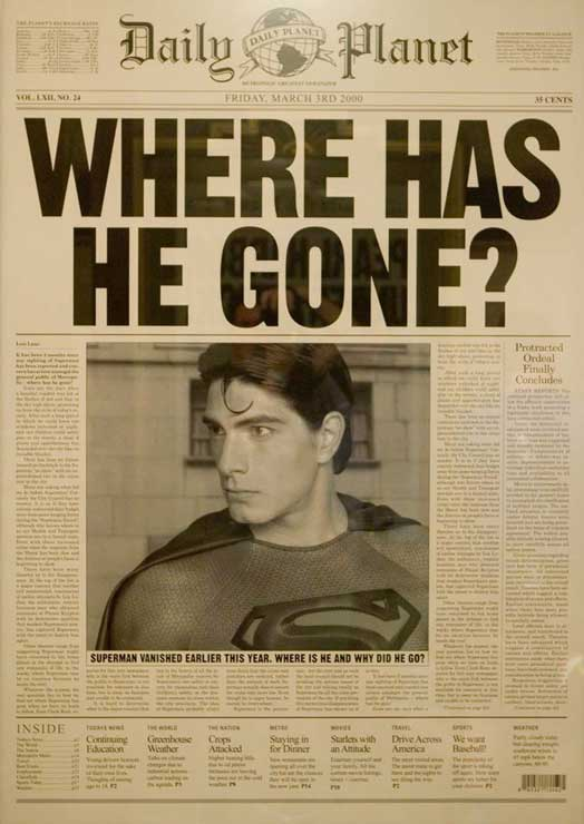 Daily Planet - Where Has He Gone?