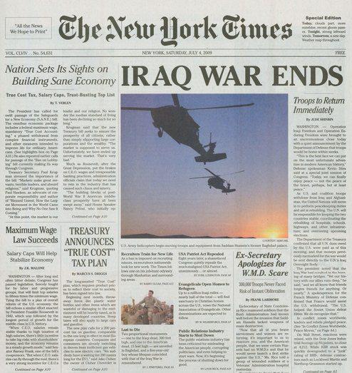 Edición Especial do The New York Times