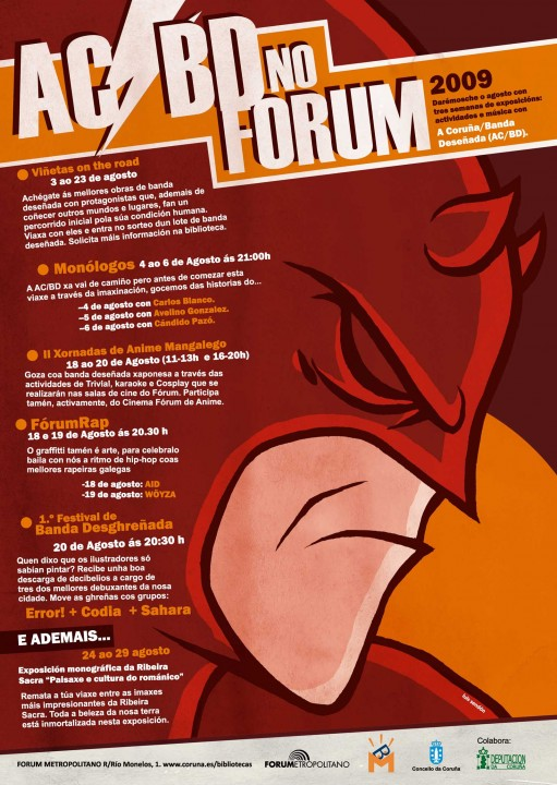 cartel do AC/BD no Fórum