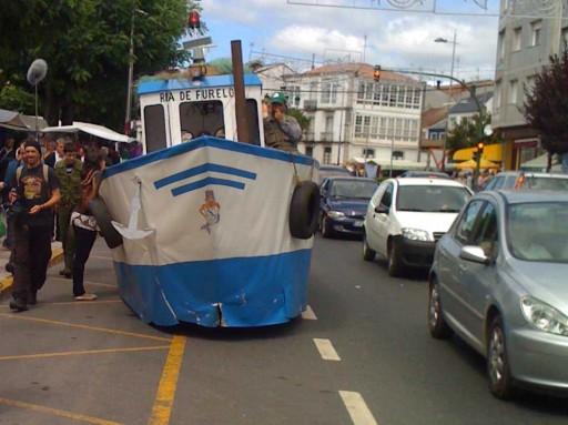 Barco en Melide