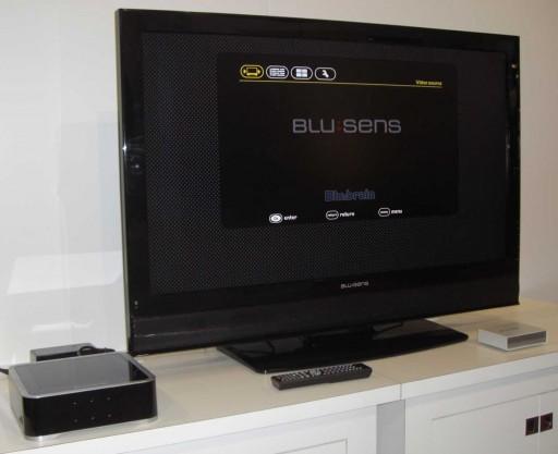 Blu:brain conectado a un televisor