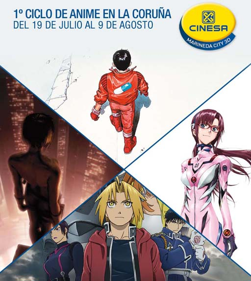 Ciclo de Anime en Marineda City
