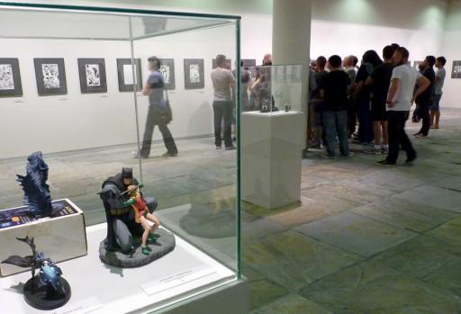 Exposición de Batman en PALEXCO