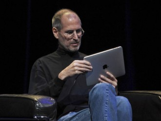 Steve Jobs co iPad