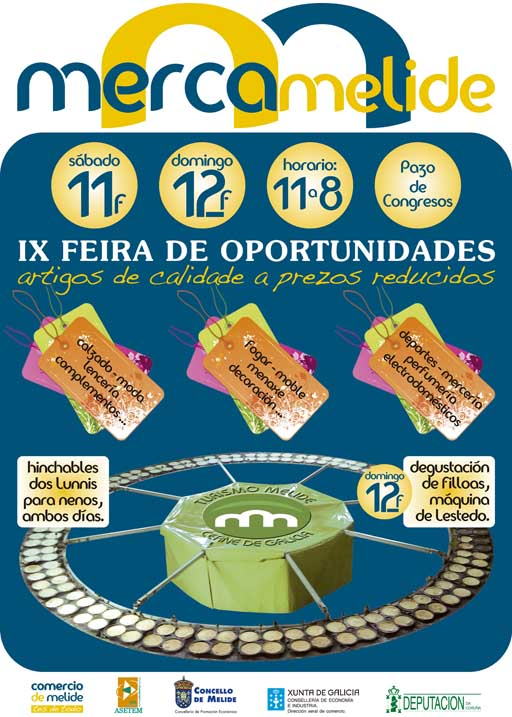Cartel de Mercamelide 2012
