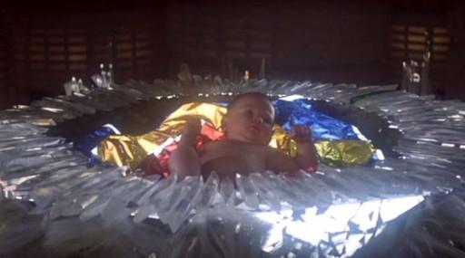 Kal-El de cativo na nave
