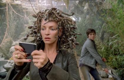Uma Thurman é Medusa