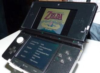 A Nintendo 3DS correndo un vello xogo de Zelda