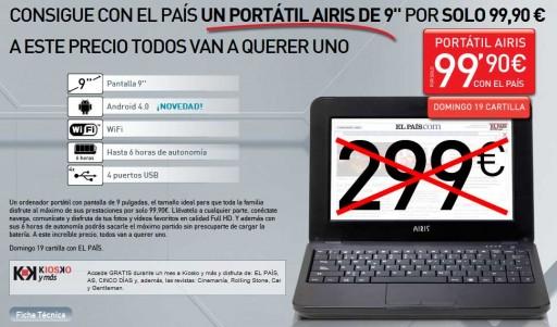 Promoción de El País