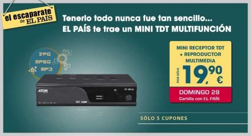 promoción de TDT de El País