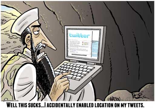 Osama no Twitter