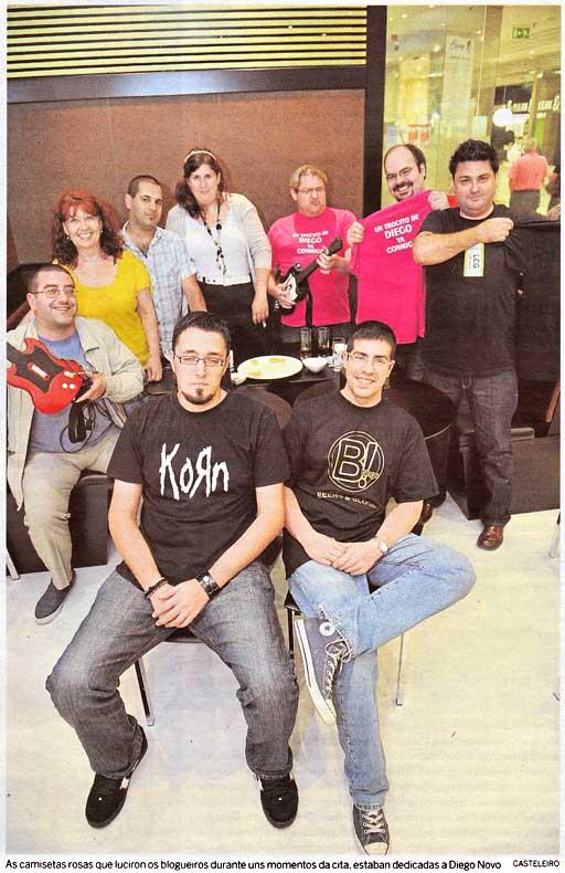 fotografía publicada no Xornal de Galicia