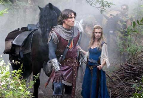 Capitán Trueno e Sigrid