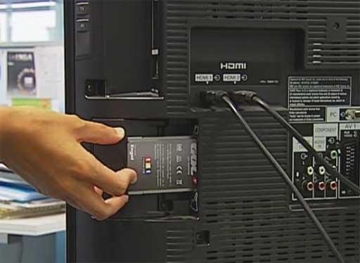PCMCIA na fenda CI