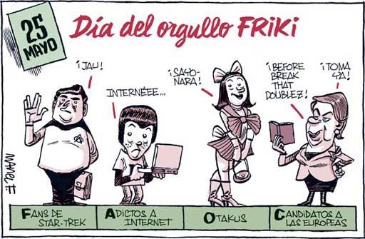 Orgullo Friki por Manel Fontdevila